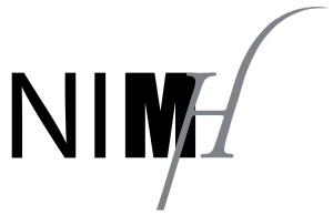 Logo NIMH in illustrator overgetrokken