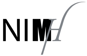 Logo NIMH in illustrator overgetrokken