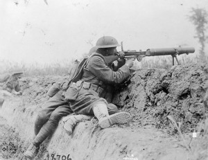 29 Belgische Ratelslang - machinegunner